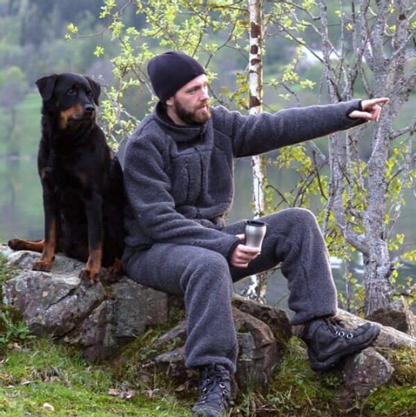 Bilde av Ullbukse - KODIAK overtrekksbukse i ull