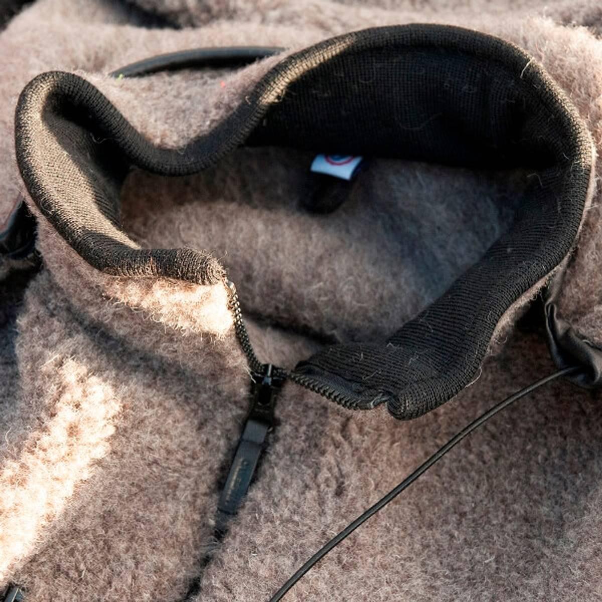 Ulljakke MULTI - jakke og vest i ett